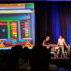 Photo of a play being performed