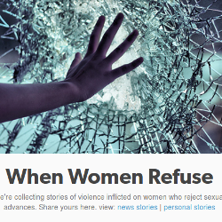 Screenshot of When Women Refuse tumblr